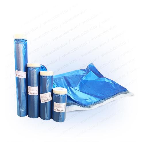 Пленка защитная с бумажной крепированой лентой 2.4м*20м