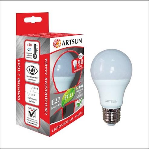 Светодиодная лампа A60 (груша)