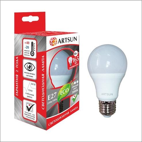 Светодиодная лампа A65 (груша)