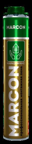Монтажная пена профессиональная MARCON PRO 65+ летняя 890 гр +5С +35С