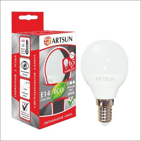 Светодиодная лампа P45 (шарик)