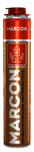 Монтажная пена профессиональная MARCON PRO 65+ всесезонная 940 гр -10С +35С
